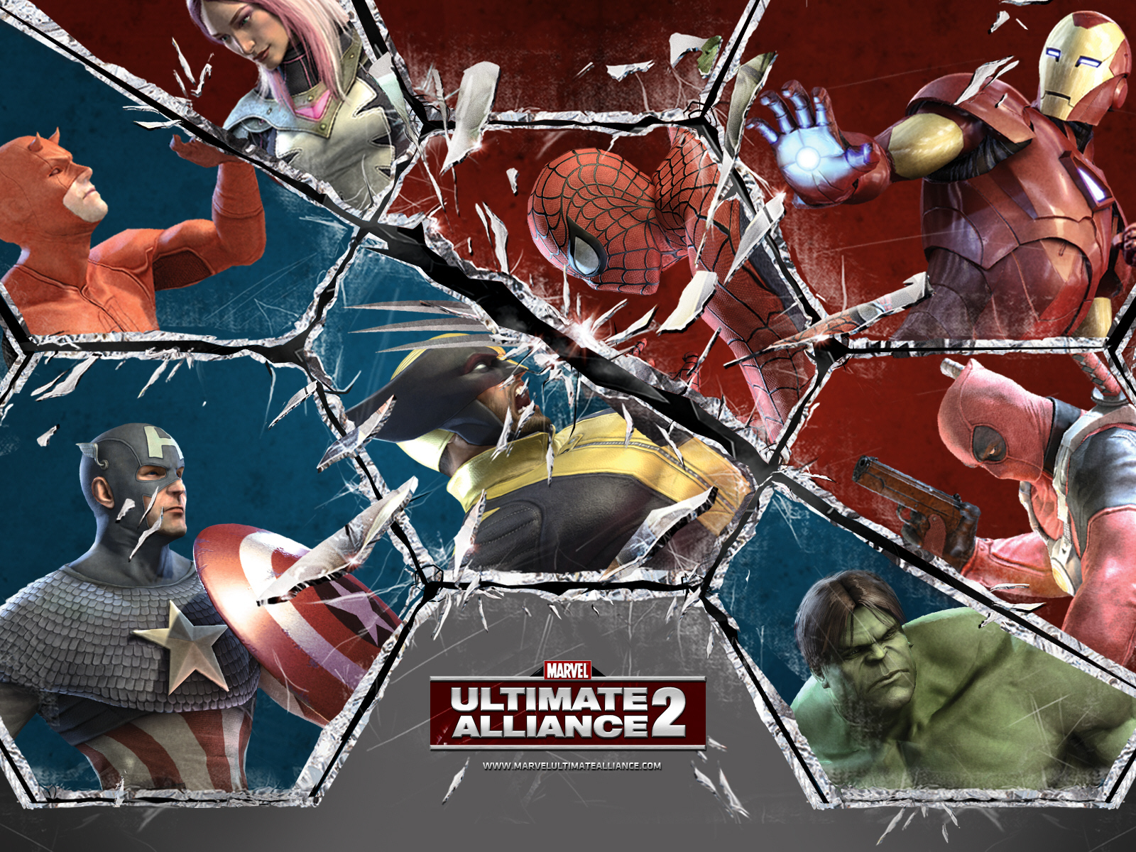 gamewallpapers marvel ultimate alliance xbox360 game